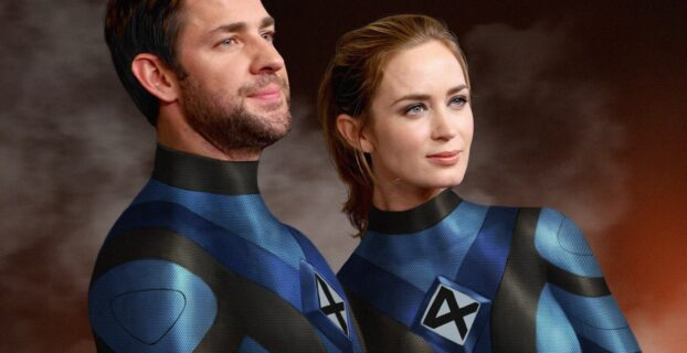 Marvel The Fantastic Four S.W.O.R.D WandaVision Emily Blunt John Krasinski