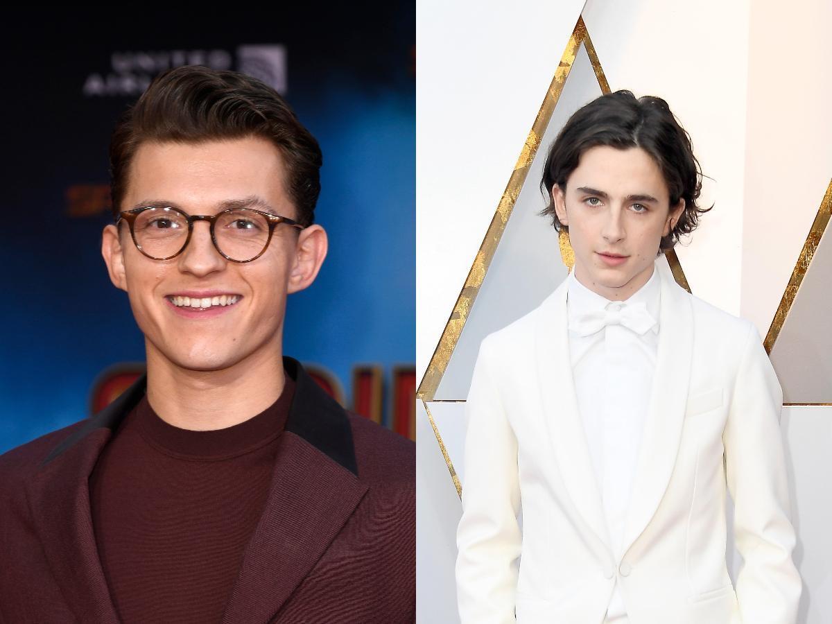 Warner Bros. eyeing Tom Holland and Timothée Chalamet for 'Wonka' prequel