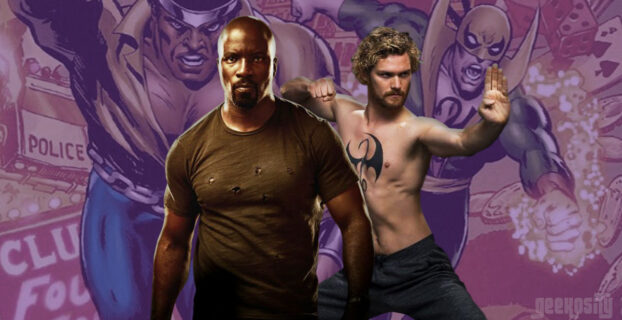 Marvel's Luke Cage and Iron Fist to Form Team on Disney Plus Series
