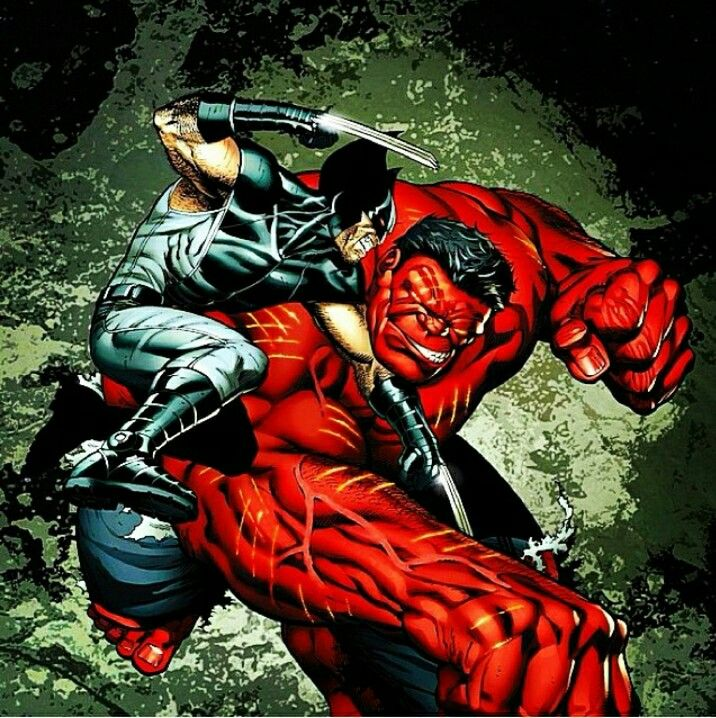 Red Hulk to Fight Wolverine in Upcoming Film Marvel