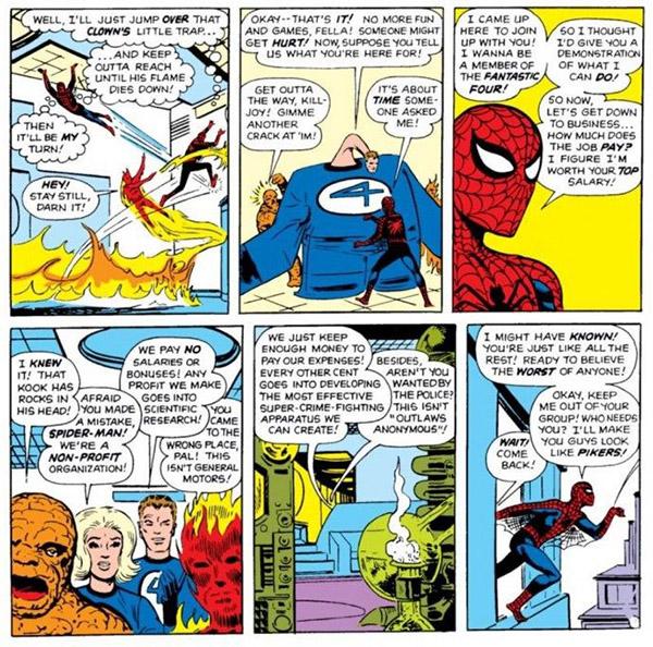 Spider-Man Human Torch Marvel Films Fantastic Four