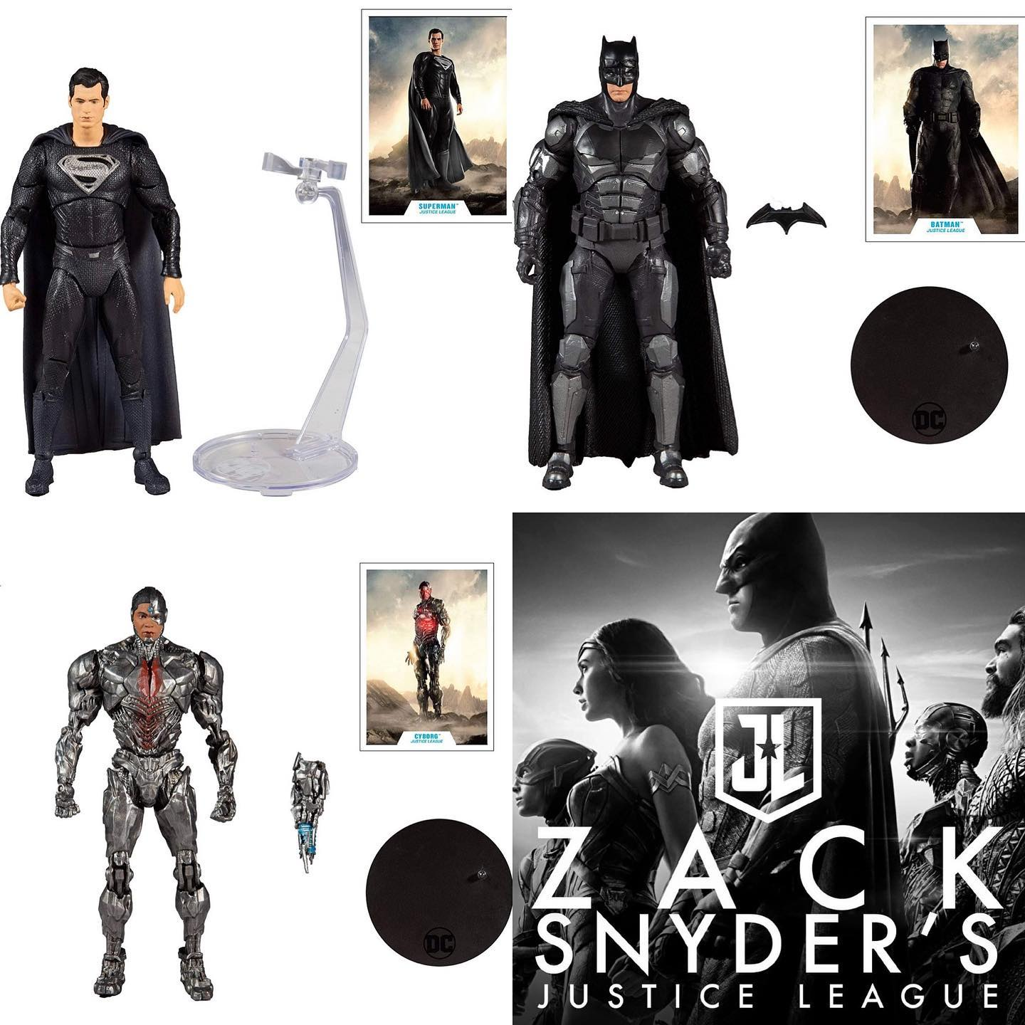 McFarlane Toys Releases Snyder Cut Action Figures