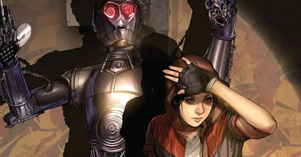 Chloe Bennet Doctor Aphra Star Wars