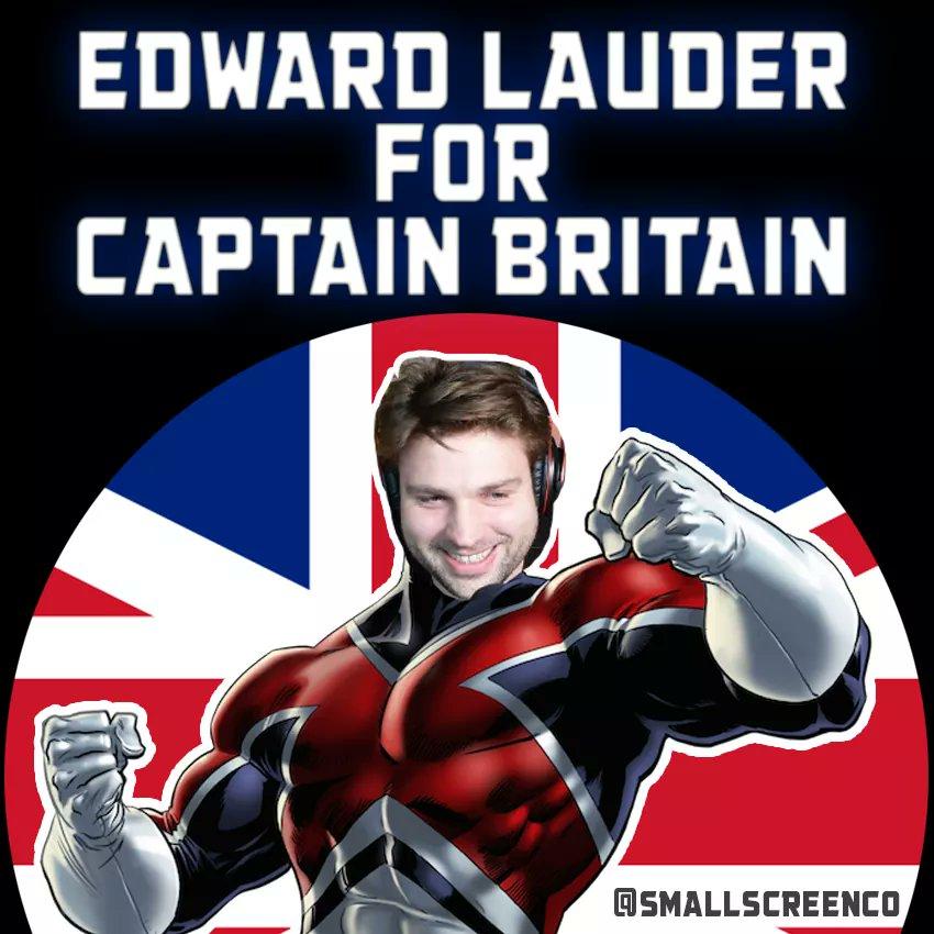 Edward Lauder Captain Britain Marvel
