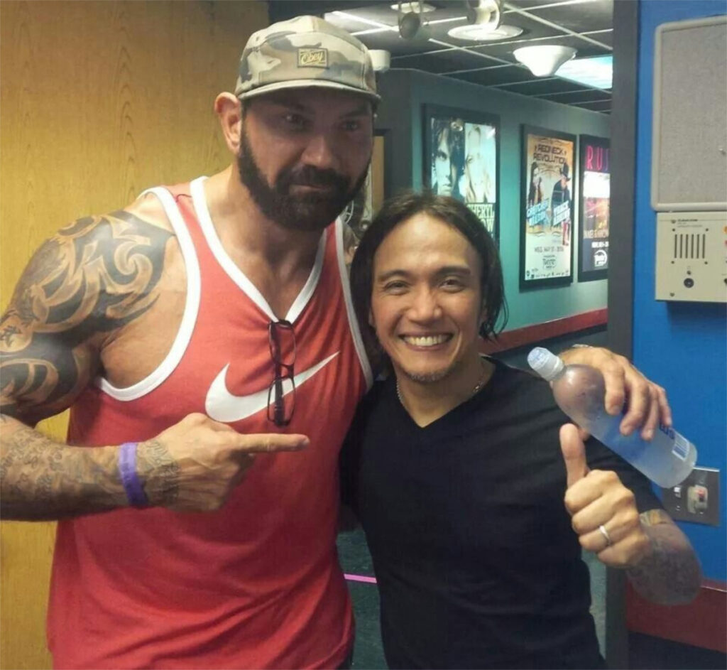 MCU's Filipino Actor Dave Bautista Speaks Out Against Anti-Asian Hat