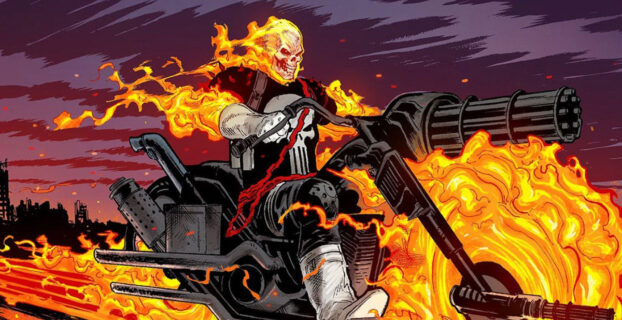Ghost Rider to Form Team With the Punisher and Blade in MCU