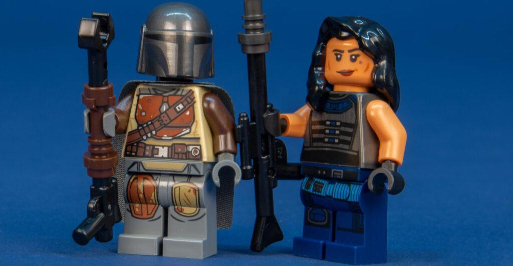 Gina Carano's Cara Dune Returns as Lego Figure