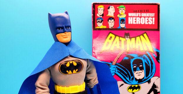 Review DC Comics Retro Style Boxed 8 Inch Action Figures Batman