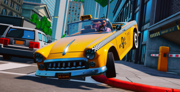 Taxi Chaos Video Game Pales Next To Crazy Taxi