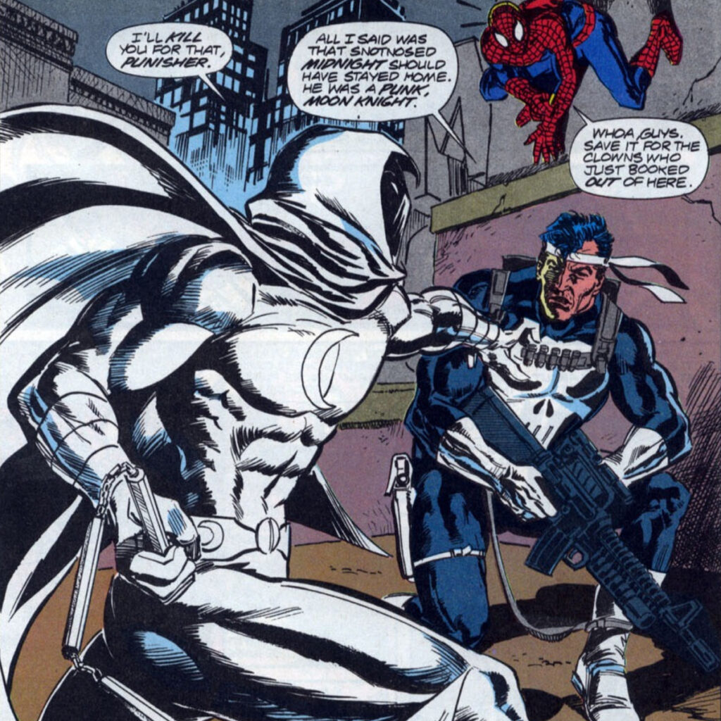 The Punisher Planned to Face Moon Knight on Disney Plus