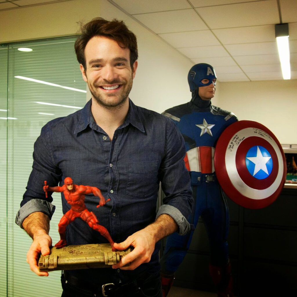 Daredevil's Charlie Cox Possibly Filming Spider-Man: No Way Home