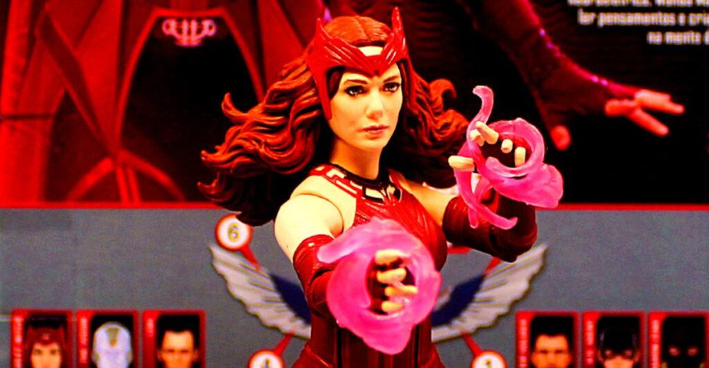 Marvel Legends Disney+ Wave 6 Inch Scarlet Witch Action Figure