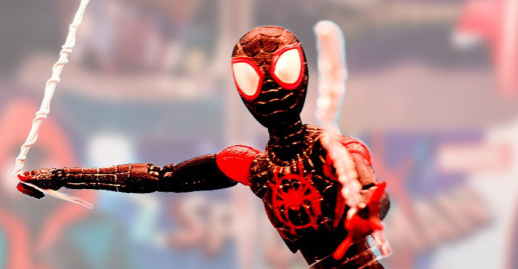 Medicom Mafex #107 Into the Spider-Verse Miles Morales Figure Review