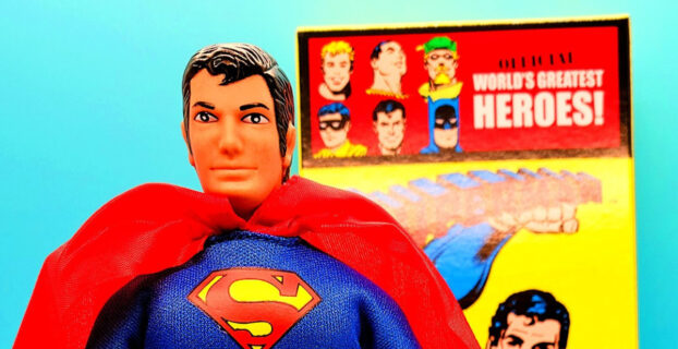 Review DC Comics Retro Style Boxed 8 Inch Action Figures Superman