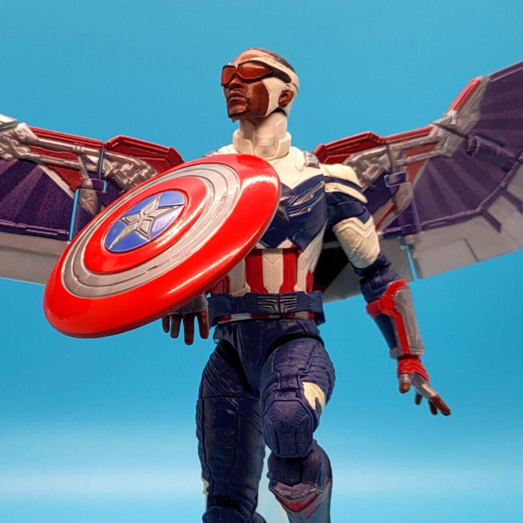 Review Marvel Legends Disney Wave 6 Inch Captain America Action Figure