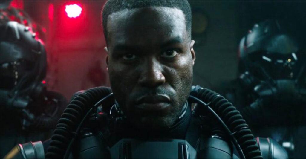 Aquaman Sequel Throws Light On Villainous Black Manta. Yahya Abdul-Mateen II