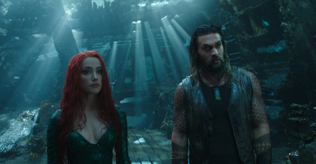 Jason Momoa's Aquaman And Amber Heard As Mera Get Serious In Sequel