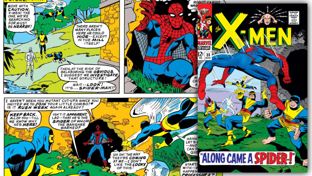Sony and Disney Discussing Spider-Man/X-Men Film