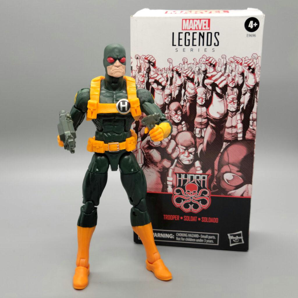 Marvel Legends Hydra Trooper Hasbro Pulse Exclusive 6 Inch Action Figure