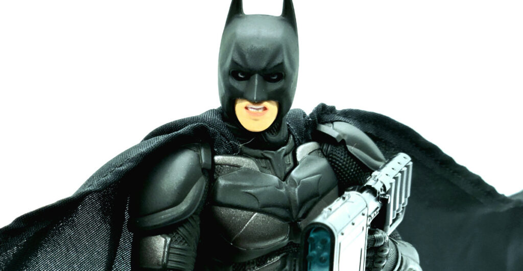 Medicom Mafex 053 The Dark Knight Trilogy Batman V3 - Batman