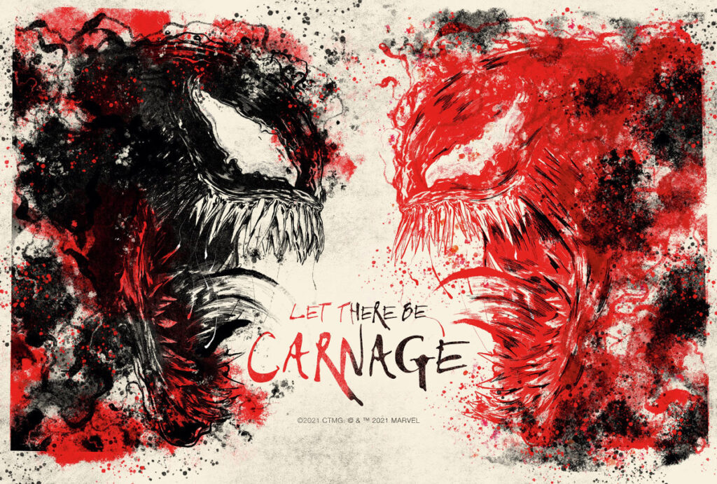 Venom Let There Be Carnage Nearly Rated R Pushes Limits of Marvel PG-13 Film