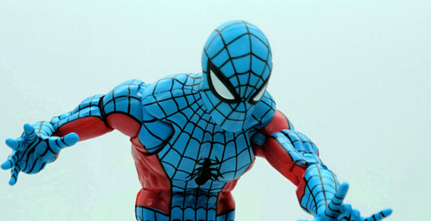 Marvel Legends Retro Wave Web-Man 6 Inch Action Figure