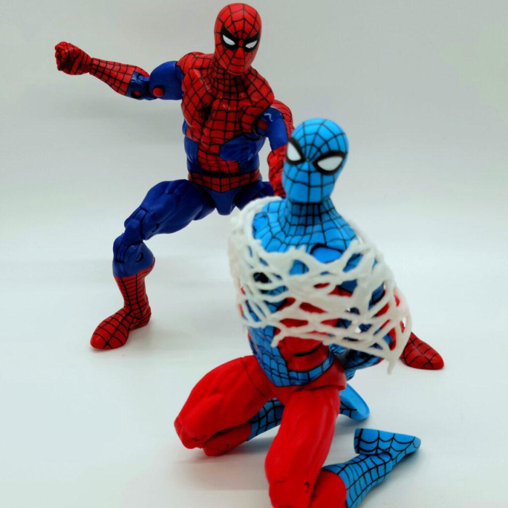 Marvel Legends Retro Wave Web-Man 6 Inch Action FigureMarvel Legends Retro Wave Web-Man 6 Inch Action Figure