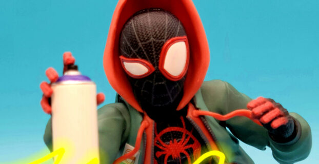 Review Sentinel SV-Action Into the Spider-Verse Miles Morales GameStop Exclusive Action Figure