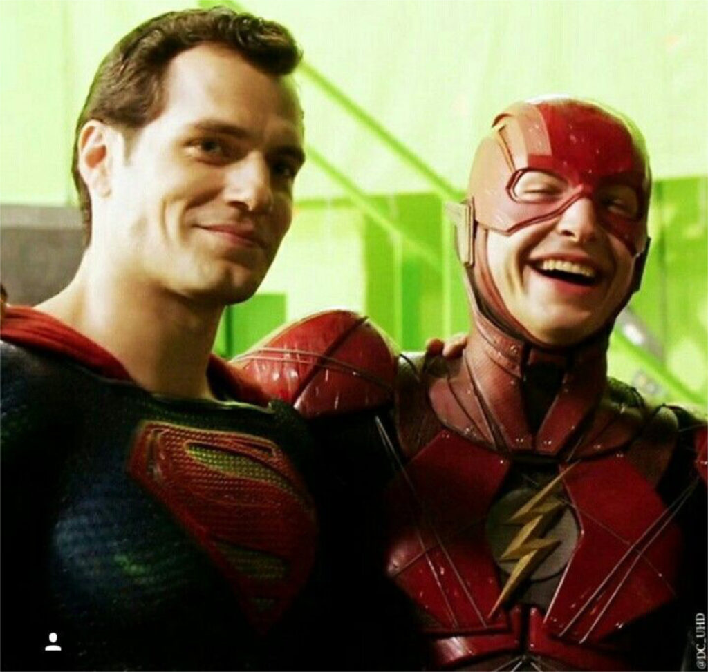 Snyderverse Veteran To Appear In The Flash Movie 03 Henry Cavill Ezra Miller