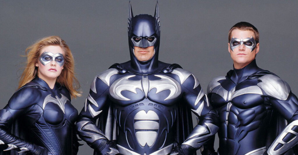 There's A Famous Batman Missing From The Flash Movie - George Clooney Chris O'Donnell